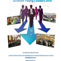 Tu ce ți-ai propus pentru 2015?  Participă la Qvorum Young Leaders 2015!  Dezvoltarea ta personală și profesională este importantă pentru noi!   Institutul Qvorum contribuie la modernizarea societății românești și la dezvoltarea spiritului de leadership și followership! Aplică și tu la programul Qvorum Young Leaders 2015 realizat în parteneriat cu Fundația Hanns Seidel si devino un vector al schimbării!